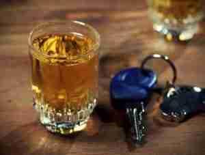 Alcohol and car keys