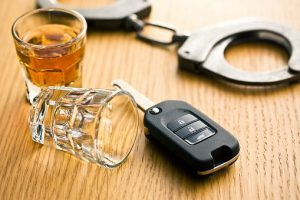 car keys and handcuffs