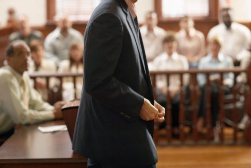 Attorney at trial