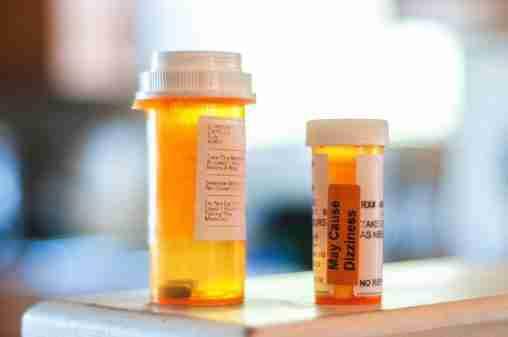 Two medicien bottles