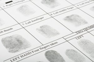 Fingerprint form