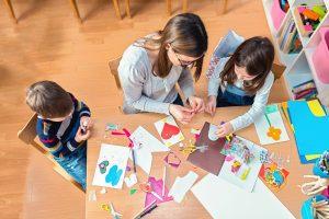 Children in activity